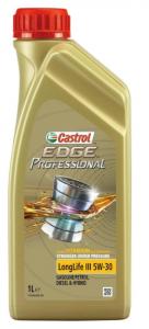 Моторное масло Castrol EDGE Professional LL III Titanium FST 5W-30 , 1л