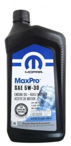 Моторное масло Mopar MaxPro 5W-30 SN, 0.946л