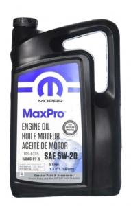 Моторное масло Mopar MaxPro 5W-20 SN, 5л