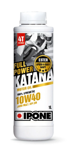 Масло моторное IPONE FULL POWER KATANA 10W-40 Ester SN MA2, 1л