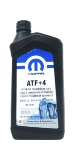 Трансмиссионное масло Mopar ATF+4, 0.946л