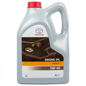 Моторное масло TOYOTA 5W-40, 5л