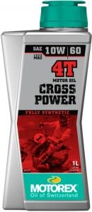 Масло моторное MOTOREX Cross Power 4Т SAE 10W-60, 1л