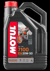 Масло моторное Motul 7100 4Т 20W-50, 4л