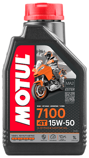 Масло моторное Motul 7100 4T 15W-50, 1л