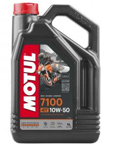 Масло моторное Motul 7100 4T 10W-50, 4л