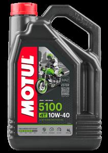 Масло моторное Motul 5100 4T 10W-40, 4л