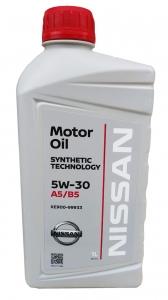 Моторное масло Nissan 5W-30 A5/B5, 1л
