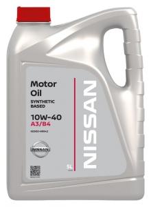 Моторное масло Nissan 10W-40 A3/B4, 5л