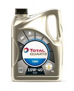 Моторное масло Total QUARTZ 7000 10W-40, 4л