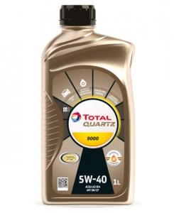 Моторное масло Total QUARTZ 9000 5W-40, 1л