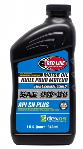Моторное масло REDLINE OIL 0W-20 PROFESSIONAL-SERIES dexos1 Gen 2, 0.95л