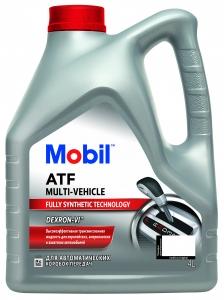 Масло трансмиссионное Mobil ATF Multi-Vehicle, 4л