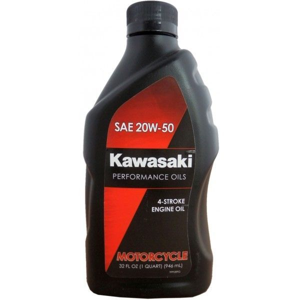 Масло моторное Kawasaki Performance Oils 4-Stroke Engine Oil Motocycle SAE 20W-50 (0,946л)
