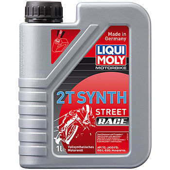Масло моторное LIQUI MOLY Motorbike 2T Synth Street Race (1л)