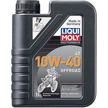 Масло моторное LIQUI MOLY Motorbike 4T 10W-40 Offroad (1л)