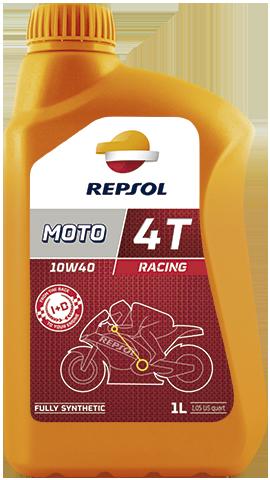 Масло моторное REPSOL MOTO RACING 4T 10W-40 (1л)