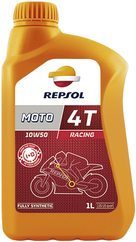 Масло моторное REPSOL MOTO RACING 4T 10W-50 (1л)