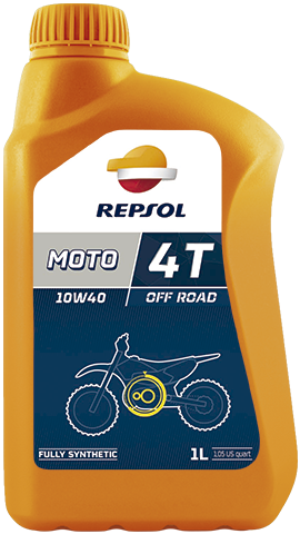 Масло моторное REPSOL MOTO OFF ROAD 4T 10W-40 (1л)