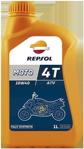 Масло моторное REPSOL MOTO ATV 4T 10W-40 (1л)