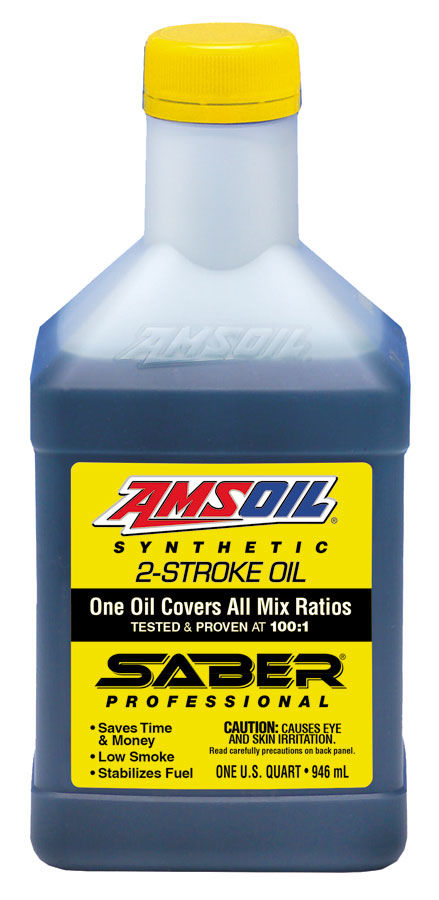 Масло моторное AMSOIL SABER® Professional Synthetic 2-Stroke Oil (0,946л)