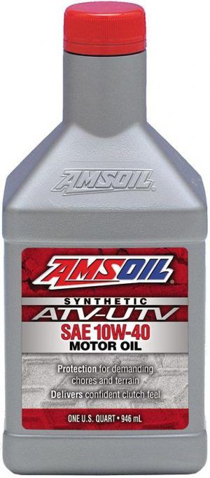 Масло моторное AMSOIL SYNTHETIC ATV/UTV MOTOR OIL SAE 10W-40 (0,946л)