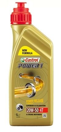Масло моторное Castrol Power 1 4T 20W-50 (1л)
