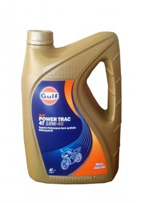 Масло моторное GULF Power Trac 4T SAE 10W-40 (4л)