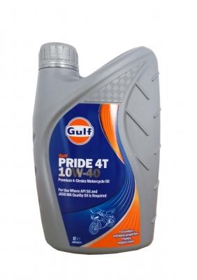 Масло моторное GULF Pride 4T SAE 10W-40 (1л)