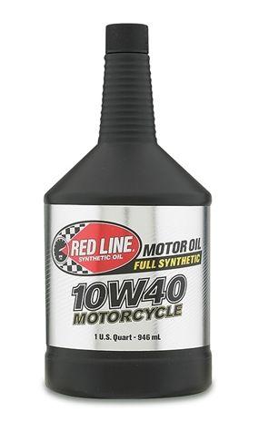 Моторное масло для 4-х тактных двигателей REDLINE OIL 10W-40 (0,946л)