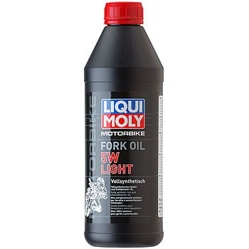 Масло для вилок и амортизаторов LIQUI MOLY Motorbike Fork Oil Light 5W (1л)