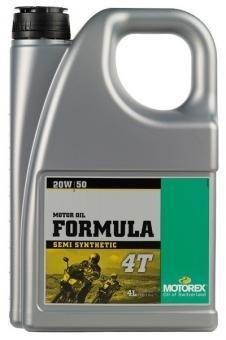 Масло моторное MOTOREX FORMULA 4T SAE 20W-50, 4л