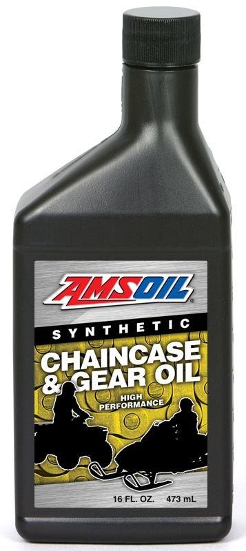 Масло трансмиссионное AMSOIL Synthetic Chaincase & Gear Oil (0,473л)