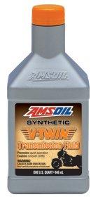 Масло трансмиссионное AMSOIL V-Twin Synthetic Transmission Fluid (0,946л)