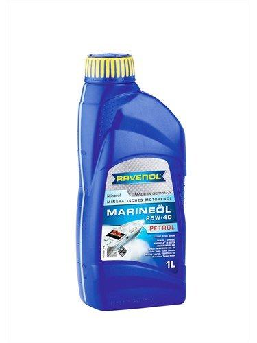 Масло моторное RAVENOL Marineoil PETROL 25W-40 mineral (1л) new