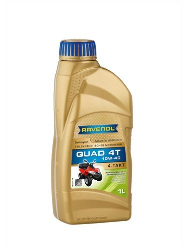 Масло моторное RAVENOL Quad 4T SAE 10W-40 (1л)
