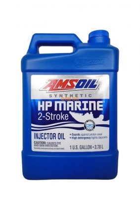 Масло моторное AMSOIL HP Marine Synthetic 2-Stroke Oil (3,78л)