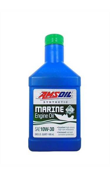 Масло моторное AMSOIL Formula 4-Stroke Marine Synthetic Oil SAE 10W-30 (0,946л)