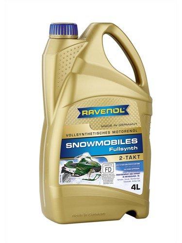 Масло моторное RAVENOL Snowmobiles Fullsynth. 2-Takt (4л)