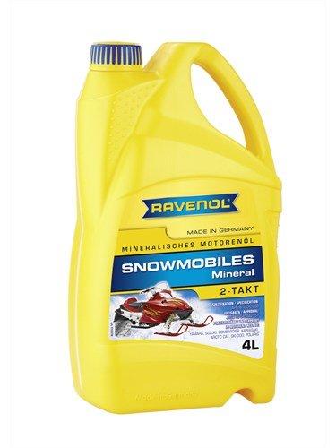 RAVENOL Масло моторное для 2-Такт снегоходов Snowmobiles Mineral 2-Takt (4л) new