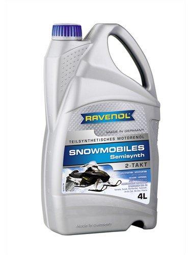 Масло моторное RAVENOL Snowmobiles Teilsynth. 2-Takt (4л)