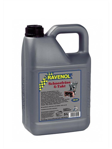Масло моторное RAVENOL Schneefraese 4-Takt 5W-30 (5л)