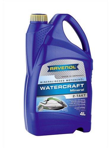 Масло моторное RAVENOL Watercraft Mineral 2-Takt (4л) new