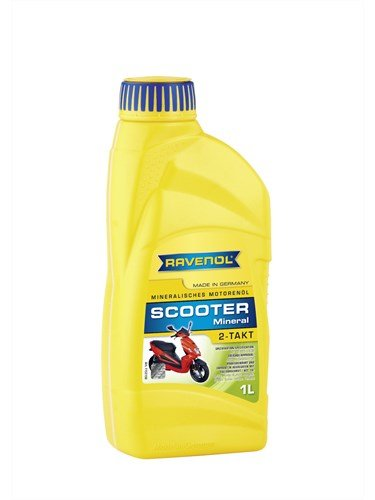 Масло моторное RAVENOL Scooter 2-Takt Mineral (1л)