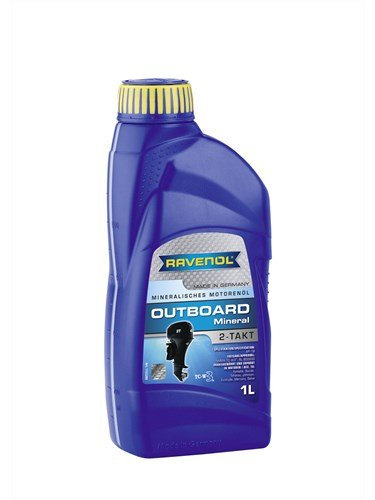 Масло моторное RAVENOL Outboard 2T Mineral (1л) new