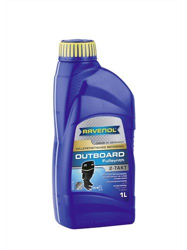 Масло моторное RAVENOL Outboardoel 2T Fullsynth. (1л) new
