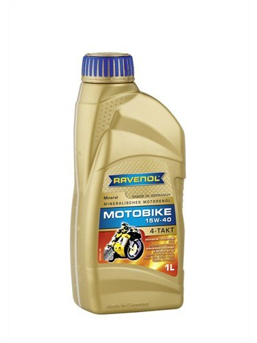 Масло моторное RAVENOL Motobike 4-T Mineral 15W-40 (1л)