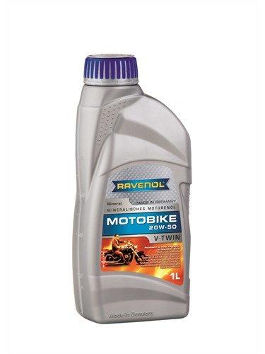 Масло моторное RAVENOL Motobike V-Twin SAE 20W-50 Mineral (1л)