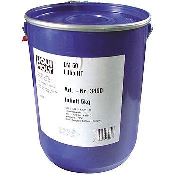 LIQUI MOLY Высокотемпературная смазка для ступиц подшипников LM 50 Litho HT (5л)