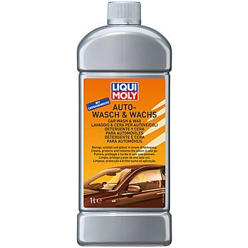 LIQUI MOLY Автошампунь с воском Auto-Wasch & Wachs (1л)